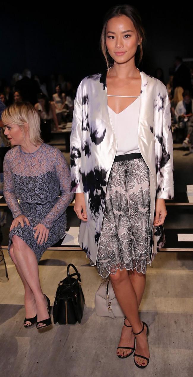 Lela Rose - Front Row - Mercedes-Benz Fashion Week Spring 2015