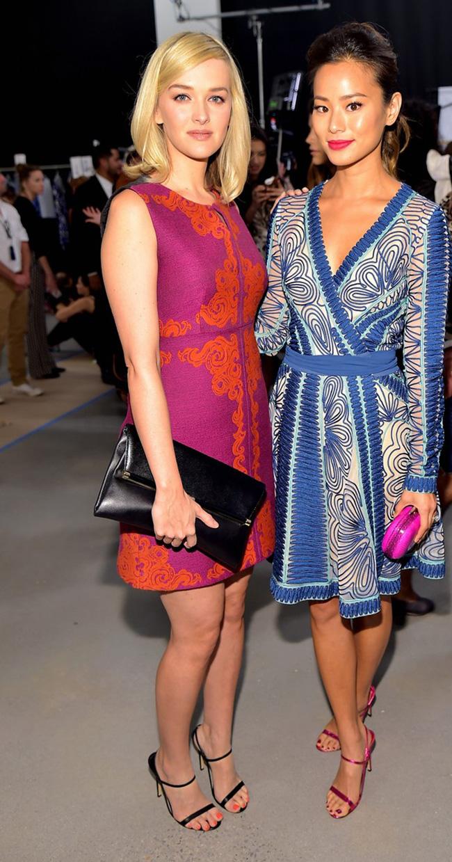 Diane Von Furstenberg - Backstage - Mercedes-Benz Fashion Week Spring 2015