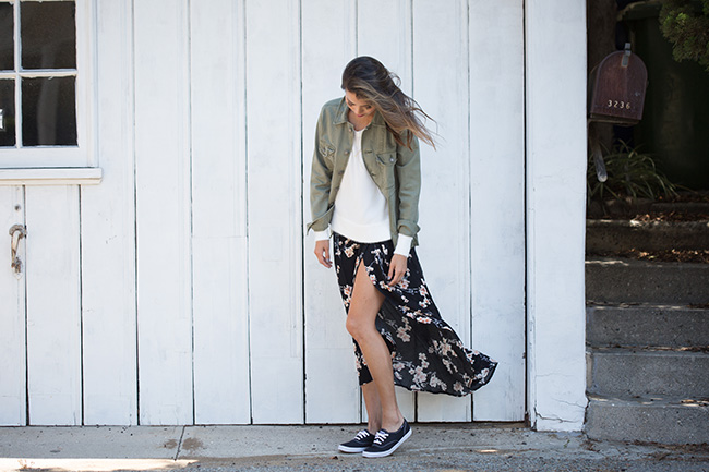 black keds outfit